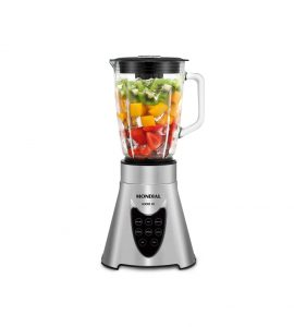 Batidora de vaso cristal power blender